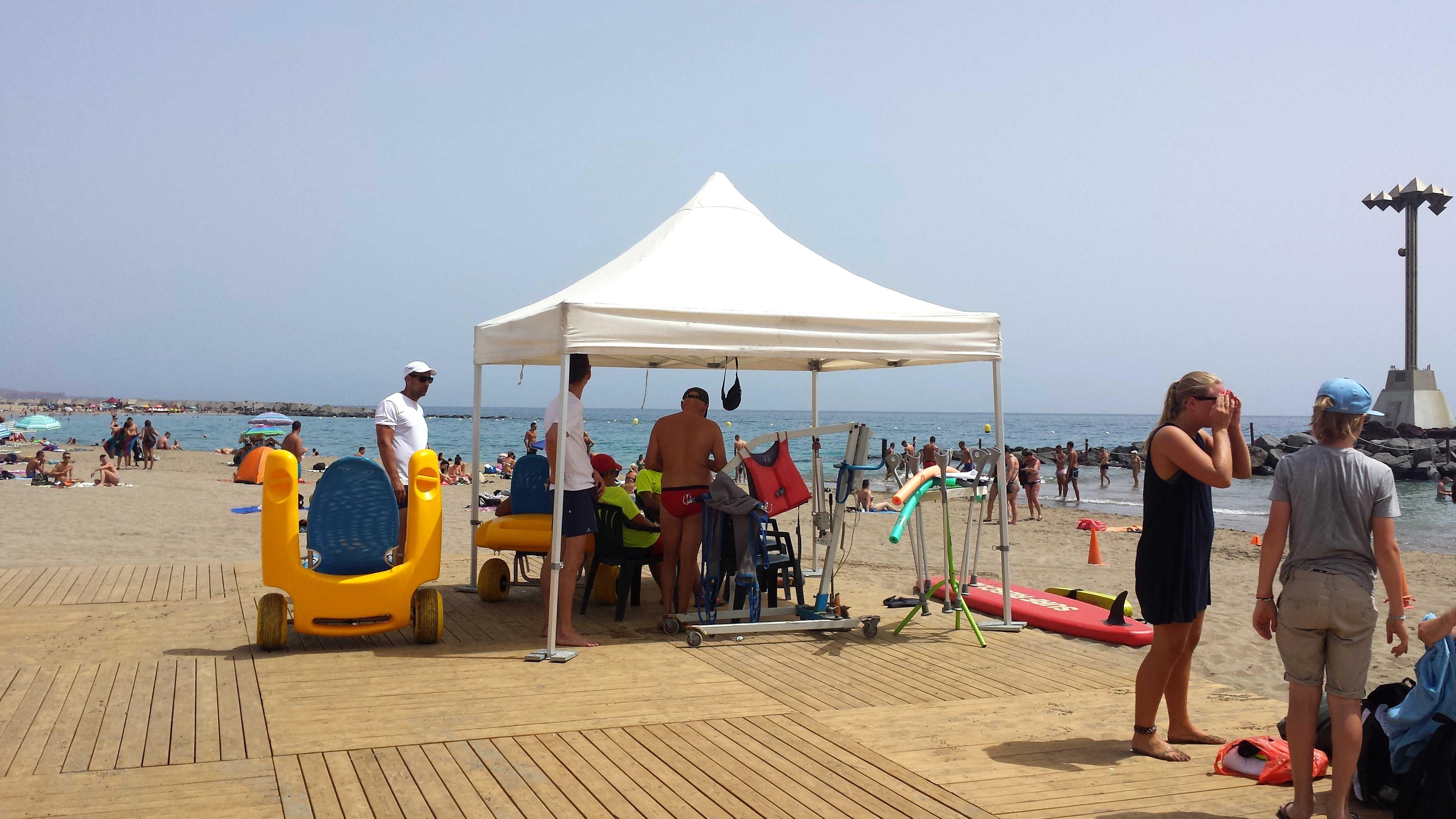 Tenerife è un\'isola davvero accessibile alle persone disabili ...