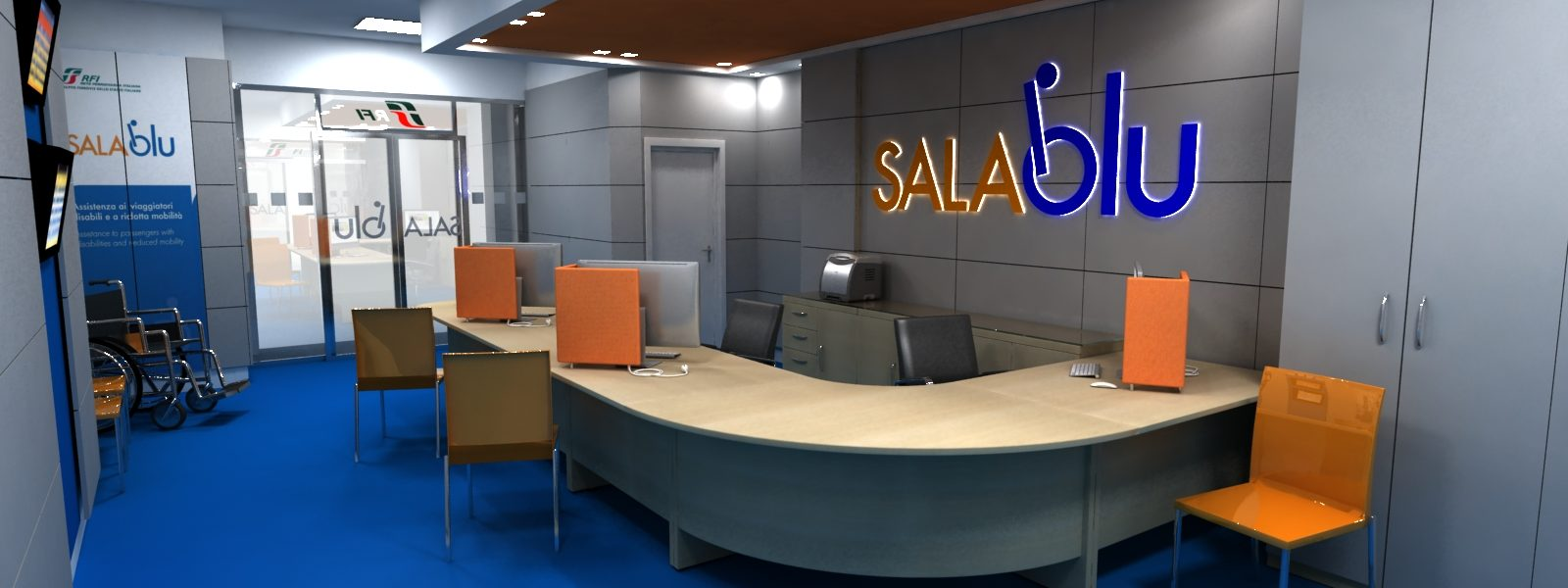 SALA BLU ON-LINE: LA NUOVA APP PER I VIAGGIATORI DISABILI